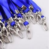 证件绳 金属扣 蓝色